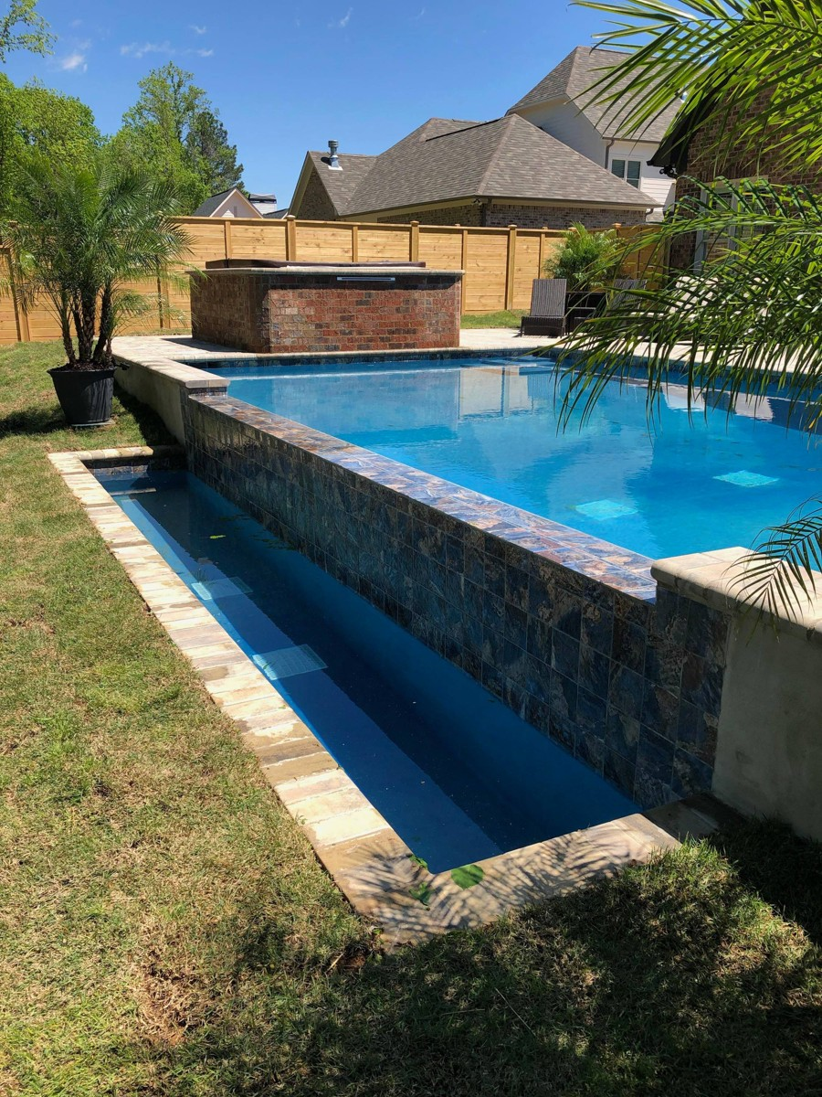 Gunite Swimming Pools Photo Gallery | Mancha Hardscapes