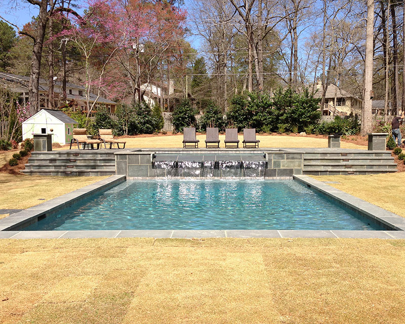 Gunite Pool in Homewood, Al