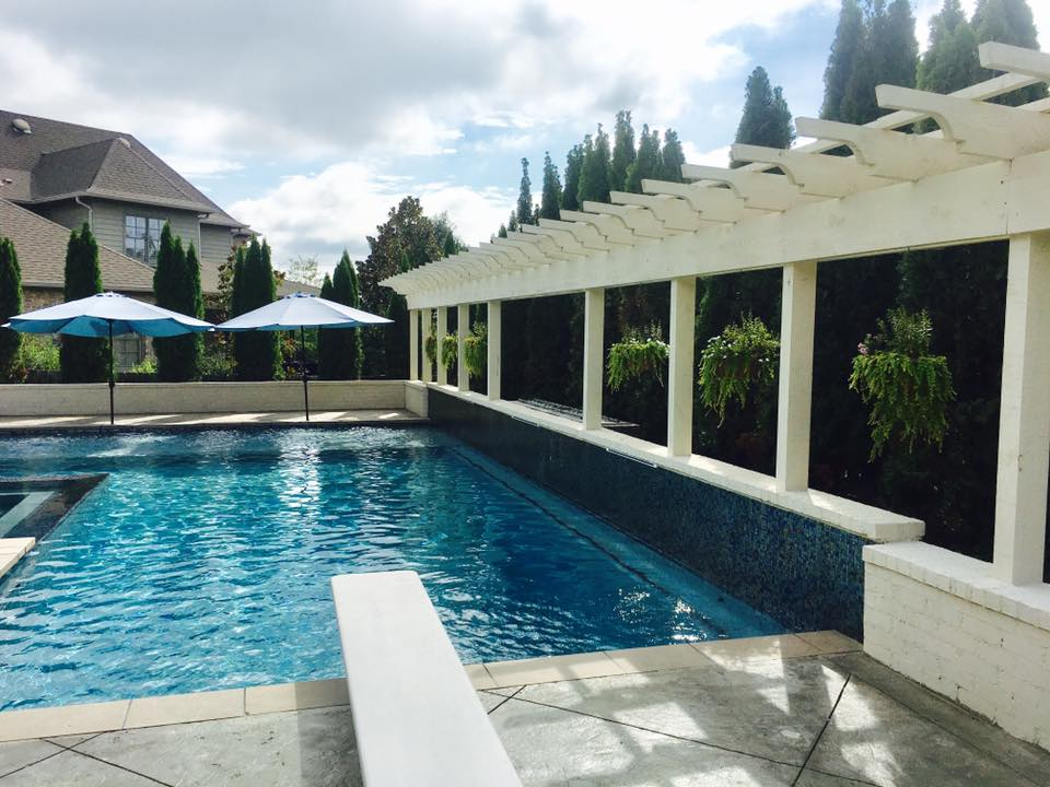 Gunite Pool in Vestavia Hills, Al