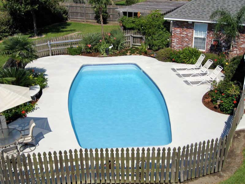 inception fiberglass pool