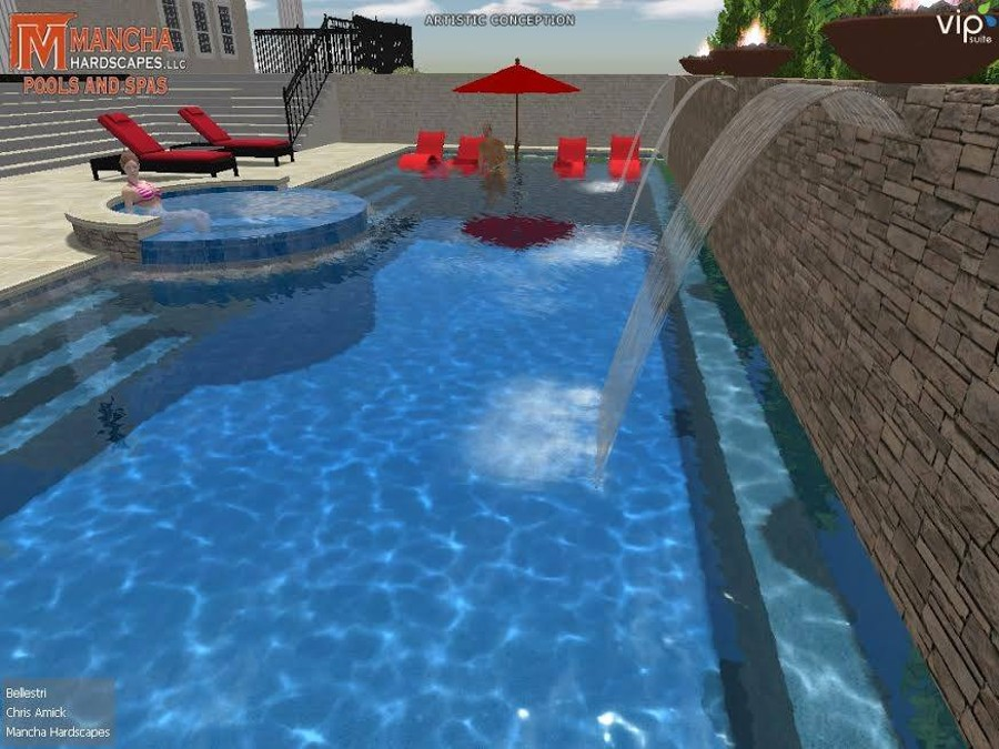 Swimming Pool Design Experts in Birmingham, Al | Mancha Hardscapes, LLC