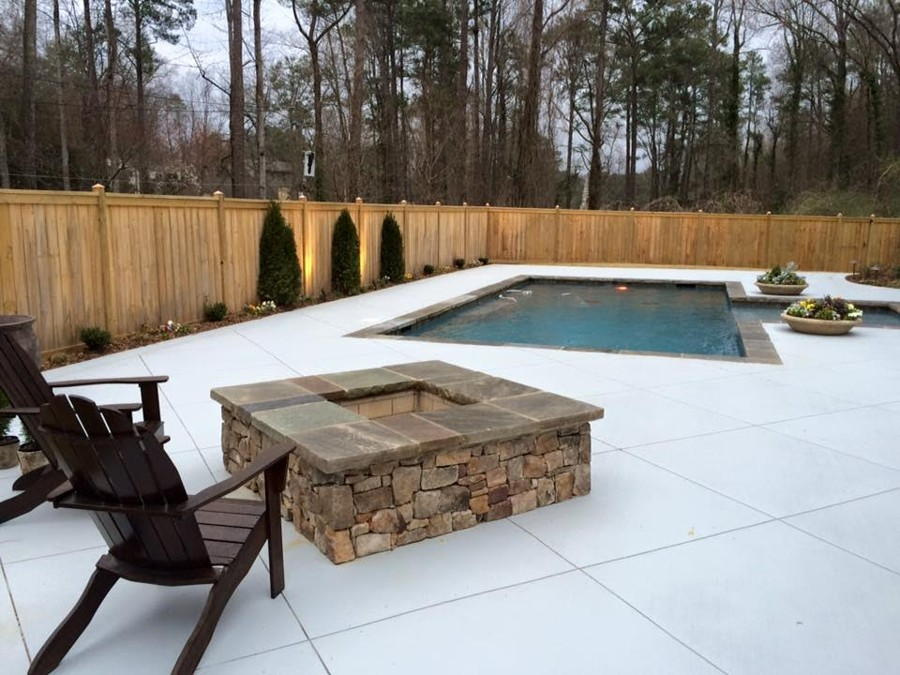 Gunite Swimming Pool Builder in Birmingham, Al | Mancha Hardscapes ...