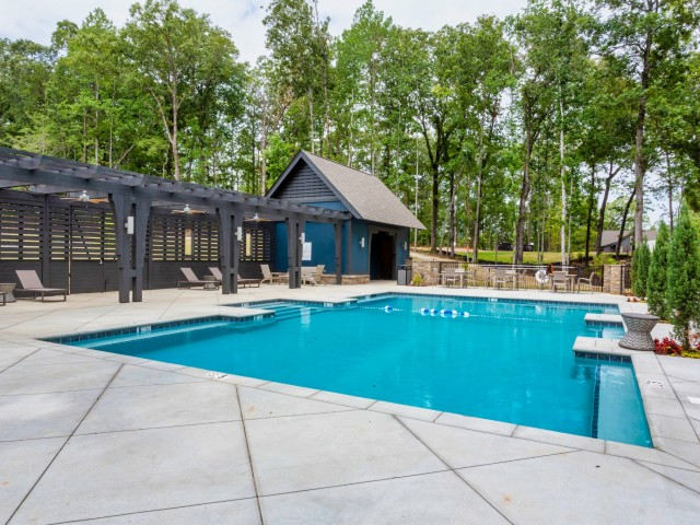 Community Gunite Pool at Lake Martin Al