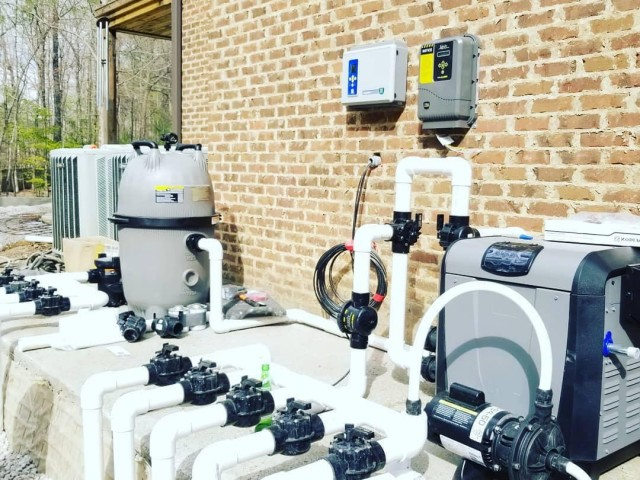 Jandy Full Automation Pool Pump System