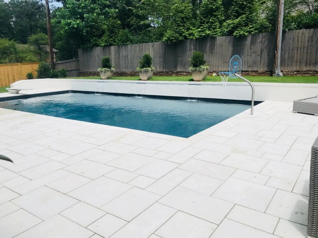 Luxury Vinyl Liner Pool Built in Birmingham, Al