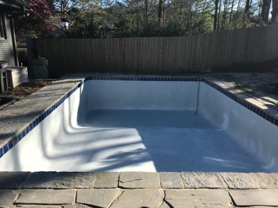 Concrete Pool Renovated