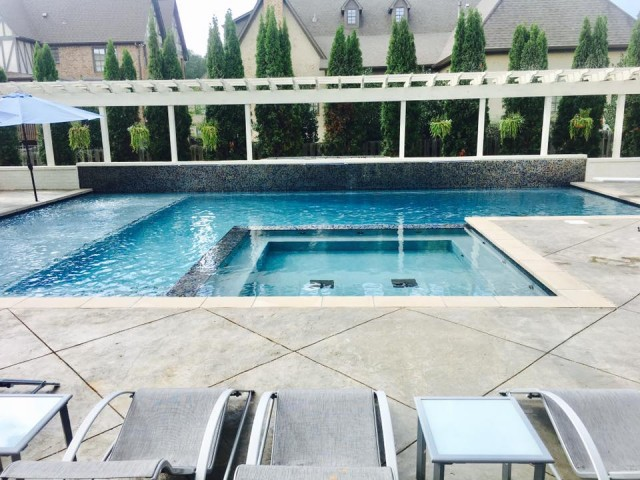 Showcase Gunite Pool Built For Our Owner